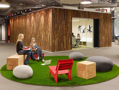 cesped artificial para coworking