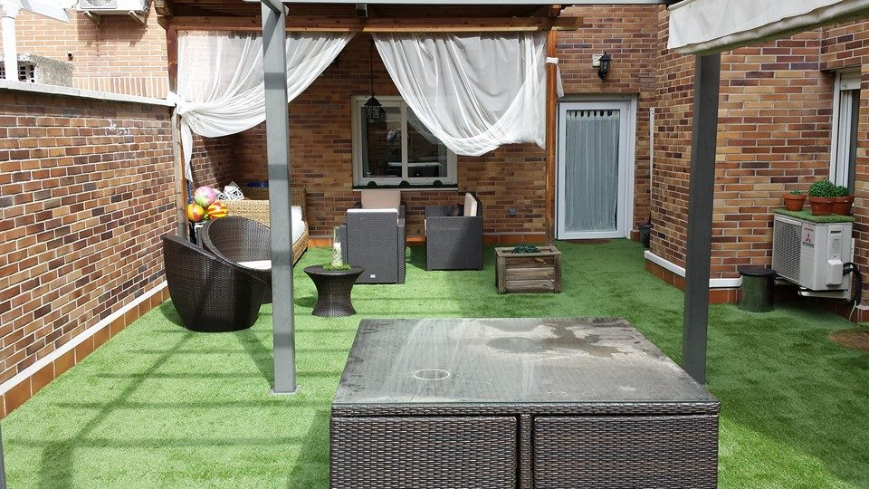 Césped Artificial Terraza Blog Cesped Allgrass Solutions