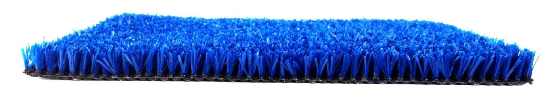 Césped padel azul
