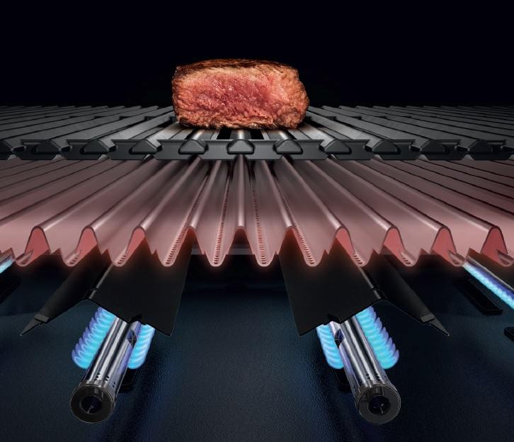 barbacoas con sistema infrarrojo
