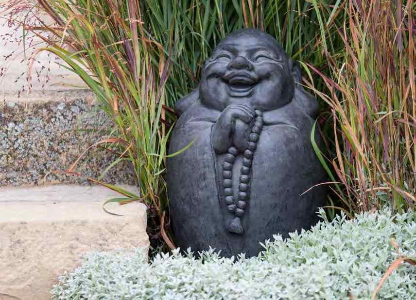 estatua de buda jardin